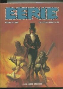 EERIE ARCHIVES VOLUME FIFTEEN HARDCOVER COLLECTING 70 THROUGH 74 WRIGHTSON NM