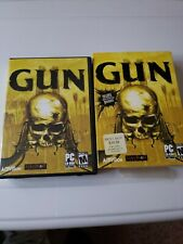 Gun (PC, 2005) CD ROM Complete with manual