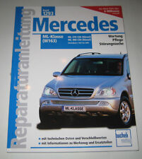 Reparaturanleitung Mercedes M-Klasse W163 ML 270 / 400 CDI Diesel 1997 - 2004