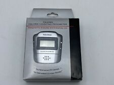 Voice Zone Talking Calorie Counting Pedometer Brand New In Box Silver