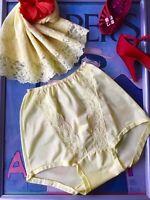 Vintage 1950's nylon & lace panties & half slip 2 pce. set - SMALL MED