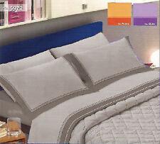 Completo lenzuola FLANELLA Piazza e Mezza flanellate 5972 Grigio