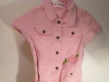 Pink Cordaroy Jumper Dress/Skirt