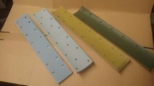 Abrasive Strips for Long Bed Sanding Block  Pack (10)  70 x 419mm  Hook & Loop