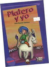 """LIBRO """"PLATERO Y YO"""", DE JUAN R. JIMÉNEZ, VERSIÓN A COLORES PARA NIÑOS"""