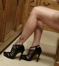 Topshop Shark strappy shoes size 4, very sexy * RARE * £75 when new.
