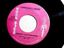 JACKSON SOUTHERNAIRES~CHRISTIAN'S DESIRE~A KILLER ~FUNK~SOUL~ GOSPEL 45