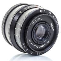 Industar 50 50mm f3,5 Russian Bokeh portrait Lens DSLR M39 Mount