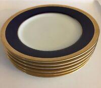 "Noritake China - Valhalla 2799 -  Set of 6 - Salad Plates 8 1/4"""