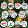 Christmas Tree Hanging Ornament 2020 Pandemic Annual Events Xmas Wooden Decor
