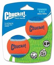 Chuckit Dog Tennis Ball Small 4.8cm 2 Pack Durable Rubber Bounce Fetch Toy