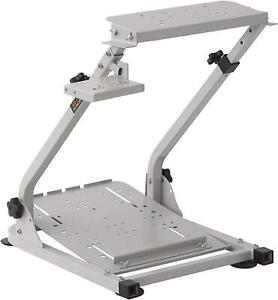 X-Rocker XR Racing Rig Wheel Stand - Silver - Racing Video Game Accessory