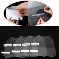8Pcs Universal Car Door Handle Invisible Anti Scratch Protector Films Sticker