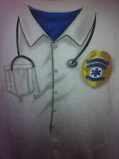 Boys Vintage distressed long sleeve t-shirt Emergency Medical Technical EMT cool