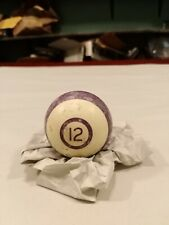 Vintage Pool Ball Billiards #12.