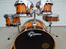 Gretsch Catalina Birch Drums 10-12-14-22 plus matching snare drum, beautiful kit