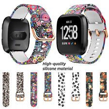 For Fitbit Versa 1 2 Lite Replacement Sport Silicone Watch Band Strap Wristband