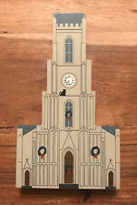 New Orleans Christmas Series St Patricks Church 1994 The Cats Meow Signed Faline