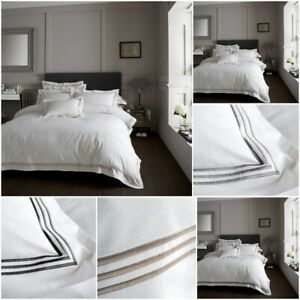 Luxury Devore Embroidered Designer Duvet Cover Sets Hotel Quality Bedding Sets