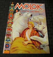 1972 MOLOK Son of Bear #7 Spanish Foreign Comicbook Digest FVF Color 64p RARE