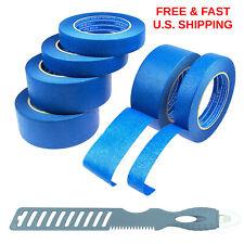 BLUE PAINTER Masking Tape 6 Roll Kit (3)1in (3)2in Last Long Painter MULTI TOOL