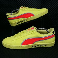 *NEW* Puma LTD Hazard (Men's Size 11.5) Leather Athletic Sneaker Shoes Yellow