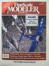 Fine Scale Modeler Magazine  December 1987    John's Garage by John Mackiewicz