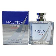Nautica Voyage Sport for Men 3.4 oz EDT Spray NIB AUTHENTIC