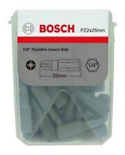 PZ2 BOX OF 25 SCREWDRIVER BITS, BIT TYPE POZIDRIV, HEX BIT SIZE PZ2, L FOR BOSCH