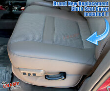 2007 Dodge Ram SLT Big-Horn Lone-Star - Driver Side Bottom Cloth Seat Cover Gray