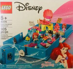 LEGO Disney Little Mermaid Ariel's Storybook Adventures 43176 Building Kit Toy
