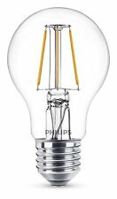 Philips LEDClassic A60 E27 Lampe 4W 360° 2700K Klar wie 40W