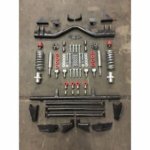 1955-1957 Chevy Tri-Five Triangulated 4-link kit with Hardware & Coilovers Nomad