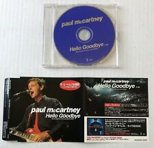 PAUL MCCARTNEY Hello Goodbye JAPAN 2002 PROMO ONLY CD Single THE BEATLES