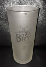 RARE COLLECTABLE TOOHEYS EXTRA DRY TEDS 425ML FROSTED BEER GLASS GOOD CONDITION