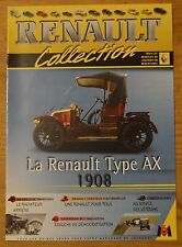 Fascicule Renault Collection, M6 Editions, n°57, Renault Type AX 1908