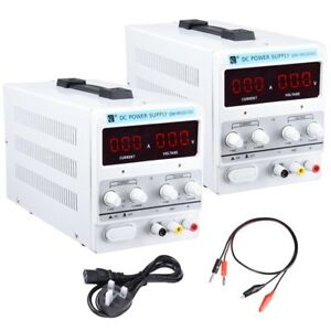 5A / 10A 30V DC Power Supply Precision Variable Digital Lab Adjustable w/ Cable