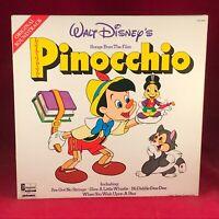 WALT DISNEY Pinocchio 1979 UK Vinyl LP EXCELLENT CONDITION soundtrack film OST