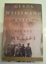 All But My Live Gerda Weissmann Klein Holocaust Literature Book