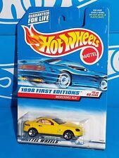 Hot Wheels 1998 First Editions #11 Mercedes SLK Mtflk Yellow w/ 5SPs