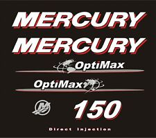 adesivi per motore mercury marino fuoribordo 150cv outboard decals stickers