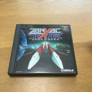 Zanac X Zanac (Sony PlayStation 1, 2001)Japan Original Arcade Game Rare