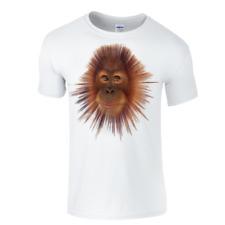 Custom made Orangutan cheeky monkey  t.shirt all sizes novelty fun men & ladies