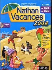Nathan Vacances du CM1 au CM2 (NEUF EMBALLE)