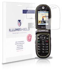 iLLumiShield Anti-Bubble/Print Screen Protector 3x for Motorola Tundra VA76R