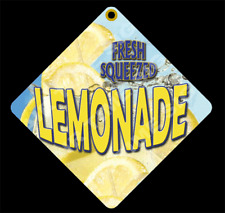 Lemonade Diamond Concession Sign Trailer Restaurant 12 X 12 2 Sided