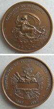 Medaille en bronze CENTENAIRE YACHT CLUB DE FRANCE 1967
