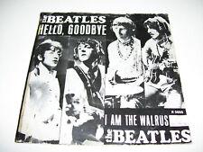 "Beatles - Hello Goodbey / walrus RARE 7"" Vinyl Holland"