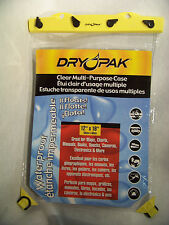 Dry Pak Waterproof Case For Multi-Purpose use- Maps, Manuals, Books
