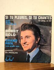 Bobby Solo - Si tu pleures, si tu chantes - Festival FX 1412M - Extended Play